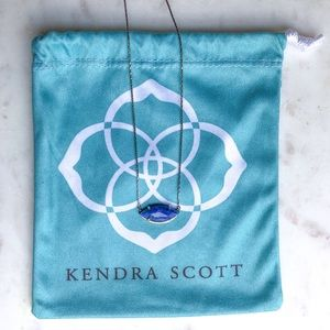 Kendra Scott Meghan Long Pendant Necklace | Blue